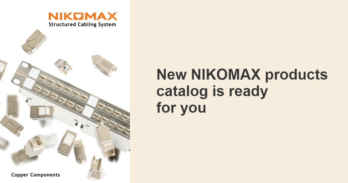 The new 2018 NIKOMAX Product Catalogue is now available
