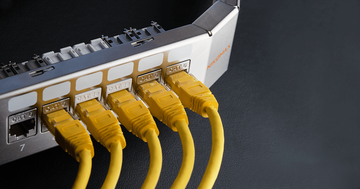 New Angled Modular Patch Panel